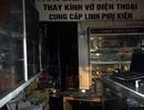 Cháy cửa hàng điện thoại trên phố Cầu Giấy, 8 người nhập viện