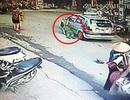 Hà Nội: Thiếu tá công an bị taxi kéo lê dưới đường