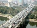 Dòng người ùn ùn về Thủ đô, đường trên cao kẹt cứng sau kỳ nghỉ Tết
