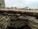 Sở GTVT Hà Nội làm rõ vụ bê tông cốt xốp ở cầu vượt đường sắt