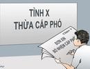 Chính phủ yêu cầu kiểm tra việc bổ nhiệm Phó Giám đốc Sở ở Thanh Hóa