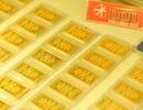 Giá vàng giảm 340.000 đồng/lượng trong tuần này
