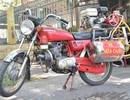 Độc đáo mô tô chữa cháy ở Sài Gòn