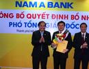Nam A Bank bổ nhiệm Phó Tổng Giám đốc mới