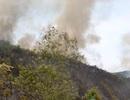 Hàng chục ha rừng tại Thanh Hóa tiếp tục bốc cháy