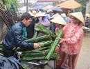 Đội mưa đi phiên chợ chỉ họp một lần trong năm