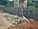 Gói thầu 1 Dự án chợ Quảng Trung (Hải Hà) hoàn thành 90% khối lượng thi công
