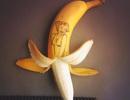"""Nghệ thuật tạo hình """"siêu độc"""" với... quả chuối"""