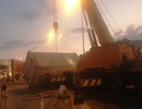 Container rơi giữa xa lộ, giao thông cầu huyết mạch tê liệt