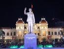 Khánh thành Tượng đài Bác Hồ ở trung tâm thành phố mang tên Bác