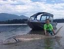 Bé 9 tuổi câu được cá nặng hơn 270kg