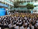 """Học sinh tưng bừng tham gia ngày hội """"Thế giới nước 2014"""" cùng La Vie"""