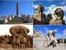 Những tác phẩm điêu khắc ca ngợi hành trình nhân sinh