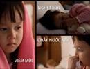 Viêm mũi dị ứng ở trẻ lúc giao mùa