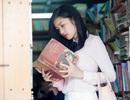 Hoa hậu Triệu Thị Hà ủng hộ hàng sách cũ 30 năm sắp phải đóng cửa