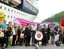 """Hơn 2.000 khách quốc tế trên tàu du lịch 5 sao """"xông đất"""" Huế"""