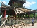 Di tích Phu Văn Lâu Huế bất ngờ bị sập một góc