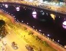 Thắp sáng 7 đóa sen hồng trên kênh Nhiêu Lộc - Thị Nghè