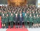 Chủ tịch nước tiếp Đoàn đại biểu điển hình tiên tiến toàn quân trong Học tập và làm theo tấm gương đạo đức Hồ Chí Minh