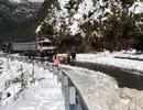 Ách tắc giao thông do băng, tuyết tại Lai Châu
