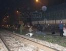 Băng qua đường sắt, một phụ nữ bị tàu tông chết