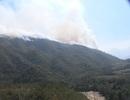 Thời tiết, địa hình cản trở việc chữa cháy rừng quốc gia Hoàng Liên