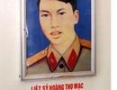 Người liệt sĩ cùng đoàn quân tiến vào Sài Gòn...