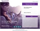 """Xếp hàng đăng ký Yahoo ID """"mơ ước"""" của mình"""