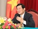 Chủ tịch nước Trương Tấn Sang trả lời phỏng vấn báo chí Trung Quốc