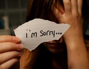 Nói xin lỗi khó vậy sao?