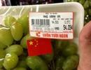 Vụ nho dán cờ Trung Quốc: BigC bị phạt 35 triệu đồng
