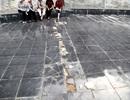 Khắc phục nền gạch hỏng trước tượng đài Mẹ Việt Nam Anh hùng
