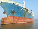 """Lại thêm 1 tàu """"ma"""" trôi trên biển Hải Phòng"""