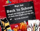 Savico Megamall tưng bừng khuyến mại mừng năm học mới