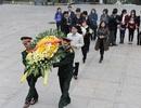 Tổng Giám đốc Vietcombank dâng hương tại Nghĩa trang liệt sĩ Trường Sơn