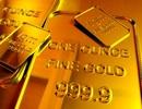 Giá vàng giảm xuống thấp nhất 6 tuần