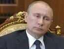 Truyền hình Nga: Ông Putin bị cảm cúm