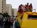 Tà áo dài Việt Nam khoe sắc trong Lễ hội Carnaval tại Cyprus