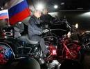 Đoàn môtô Nga đi xuyên châu Âu kỷ niệm Chiến thắng phát xít