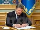 Tổng thống Ukraine trình quốc hội dự thảo về thiết quân luật
