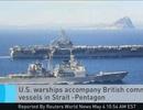 Nguy cơ đối đầu Mỹ - Iran ở eo biển Hormuz