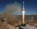 Tàu vũ trụ Nga bốc cháy dữ dội trên không