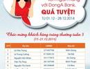 Danh sách 10 chủ nhân trúng thưởng Chuyển khoản liên ngân hàng với DongA Bank