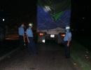 Một đêm phạt xe quá tải gần 600 triệu đồng