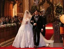 Châu Kiệt Luân khoe ảnh đám cưới lãng mạn
