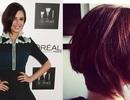 Cheryl Fernandez-Versini mới mẻ với tóc ngắn