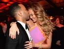 John Legend ăn mừng chiến thắng Oscar bên vợ đẹp