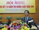Phó Thủ tướng: Không cản trở sự phát triển của báo chí