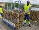 """Hình ảnh Paris chính thức phá dỡ hàng trăm nghìn """"biểu tượng tình yêu"""""""