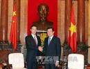 Chủ tịch nước tiếp Phó Thủ tướng Trung Quốc Trương Cao Lệ